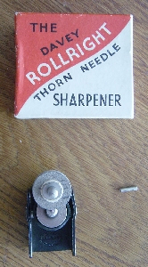 The Davey Rollright Thorn Needle Sharpener
