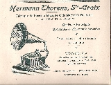 Thorens catalogues divers